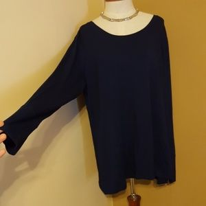 Long Sleeve Dress Shirt ~ Women's XXL NWT